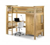 Bedsitter Bunk Bed Pine