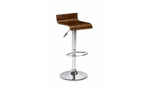 Stratos Stool- Walnut Seat