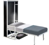 B-ESK Vertical Wall Bed with Desk