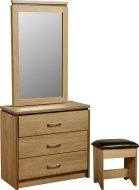 Charles 3 drwr Dressing Table Set