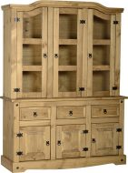 Dark Corona 4'6″ Buffet Hutch