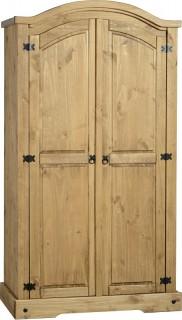 Dark Corona 2 Door Wardrobe
