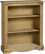 Dark Corona Low Bookcase