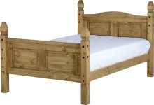 Dark Corona  4′ Bed High Foot End