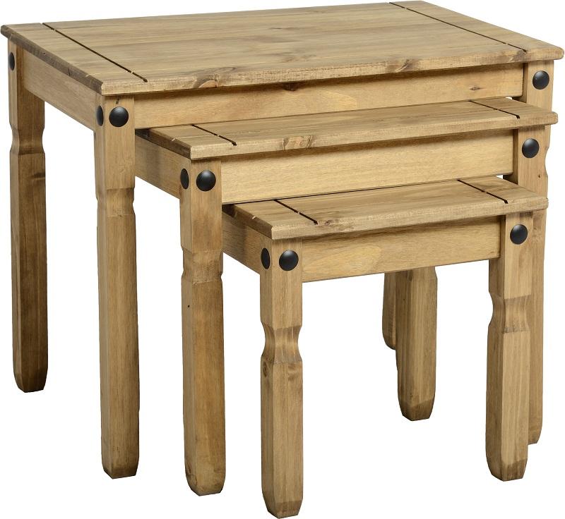 Dark Corona Nest Of Tables