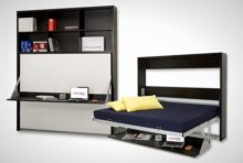 Dotto Wall Bed with Shelf