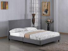 Fusion Fabric  Bed Grey 4 foot