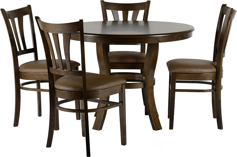 Grosvenor 40 Round Dining Set Furniture Solutions Gibraltar