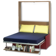 Vertical Houdini Bed