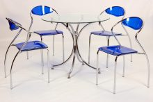Jersey Dining Table Chrome
