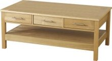 Oakleigh 3 Drawer Coffee Table