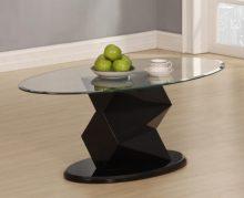 Rowley Coffee Table . High Gloss Black or White