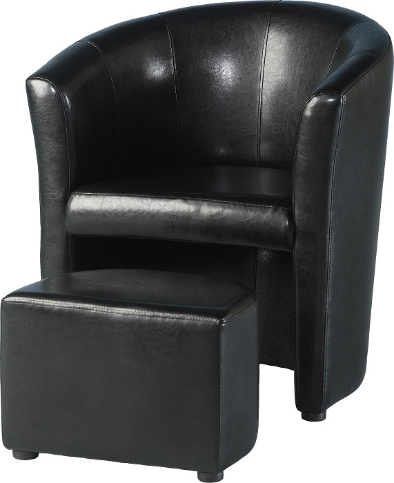 Tempo Tub Chair with Footstool