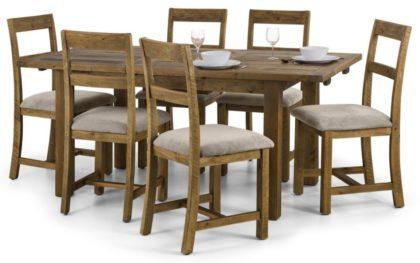 Aspen Rough Sawn Dining Set