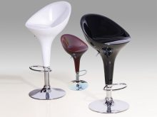 Bar Stool Chrome Model 2