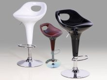 Bar Stool Chrome Model 3