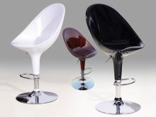 Bar Stool Chrome Model 5