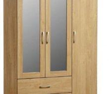 Charles 3 Door Wardrobe