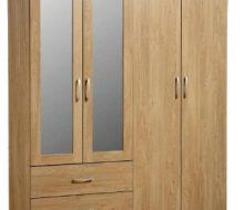 Charles 4 Door Wardrobe