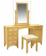 Chelsea Dressing Table Mirror Pine
