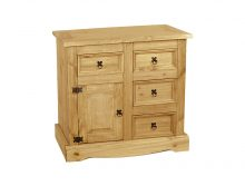 Light Buffet 1 Door & 4 Drawer – Side Board