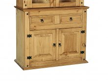 LIGHT CORONA BUFFET 2 DOOR HUTCH 2+2 SET
