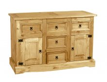 LIGHT CORONA BUFFET 2 DOOR 5 DRAWER
