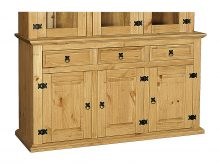 LIGHT CORONA BUFFET 3 DOOR 3 DRAWER