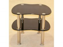 Hudson Black Side Table