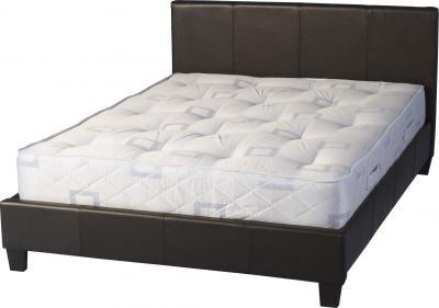 Prado 5′ Bed in Expresso Brown or black PU