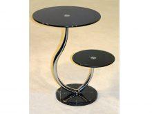 Oxshott Black Lamp Table