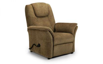 Riva Rise & Recline Chair – Cappuccino Chenille