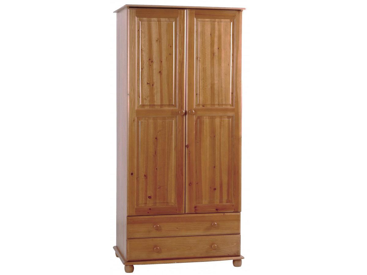 Skagen 2 Door Wardrobe with 2 Drawers