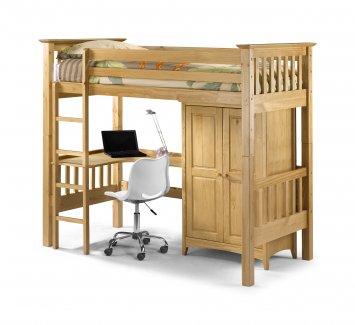 Bedsitter Bunk Bed Pine