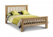 Amsterdam Oak Bed 135cm/150 cms