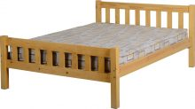 Carlow 4'6″ Bed High Foot End