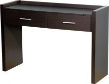Denver Dressing Table with 2 Drawers Expresso Brown