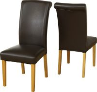 Dunoon Faux Leather Chair