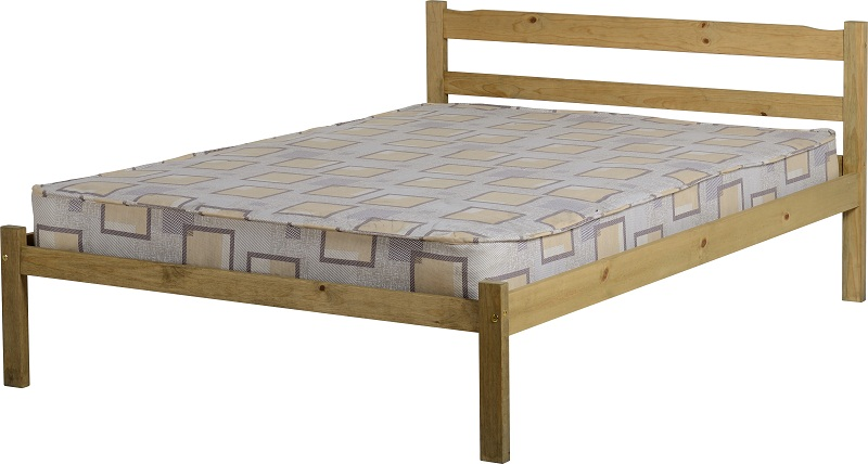 Panama 4'6″ Bed Low Foot End