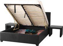 Prado Plus 4'6″ Storage Bed Low Foot End