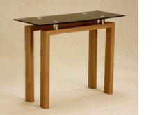 Adina Black Console Table