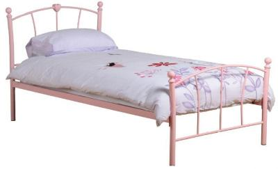 Caitlin 3′ Girls Bed High Foot End