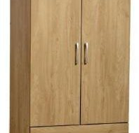 Charles 2 DOOR , 2 DRAWER  WARDROBE