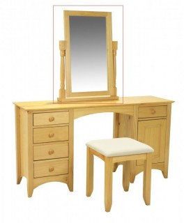 Chelsea Dressing Table Mirror Pine