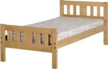 Rio Bed in Distressed Wax Pine