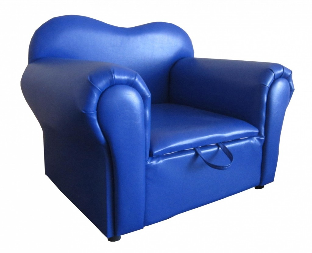 Isabella Kids Sofa Pu Blue Furniture Solutions Gibraltar