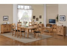 Stirling Dining Table Extending Set
