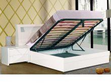 Tanya High Gloss Storage Bed
