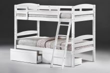 Tripoli Bunk Bed White